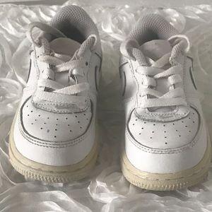Nike White Air Force 1 Kids